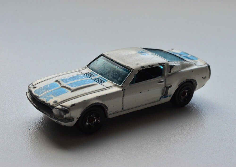 Hot Wheels '67 Shelby GT500 diecast