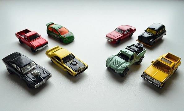 Hot Wheels and Matchbox series from Mattel