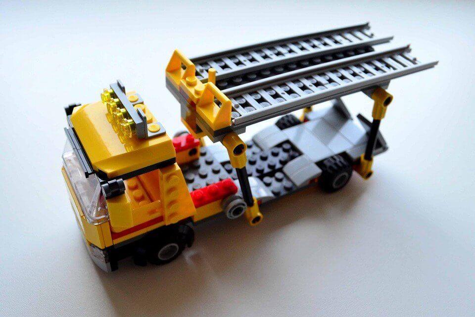 Lego City Auto Transporter Truck