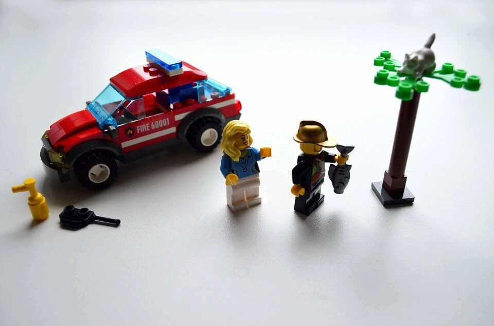 LEGO City Fire Chief Car with accessories