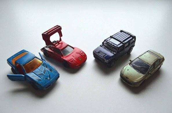 Majorette die cast cars